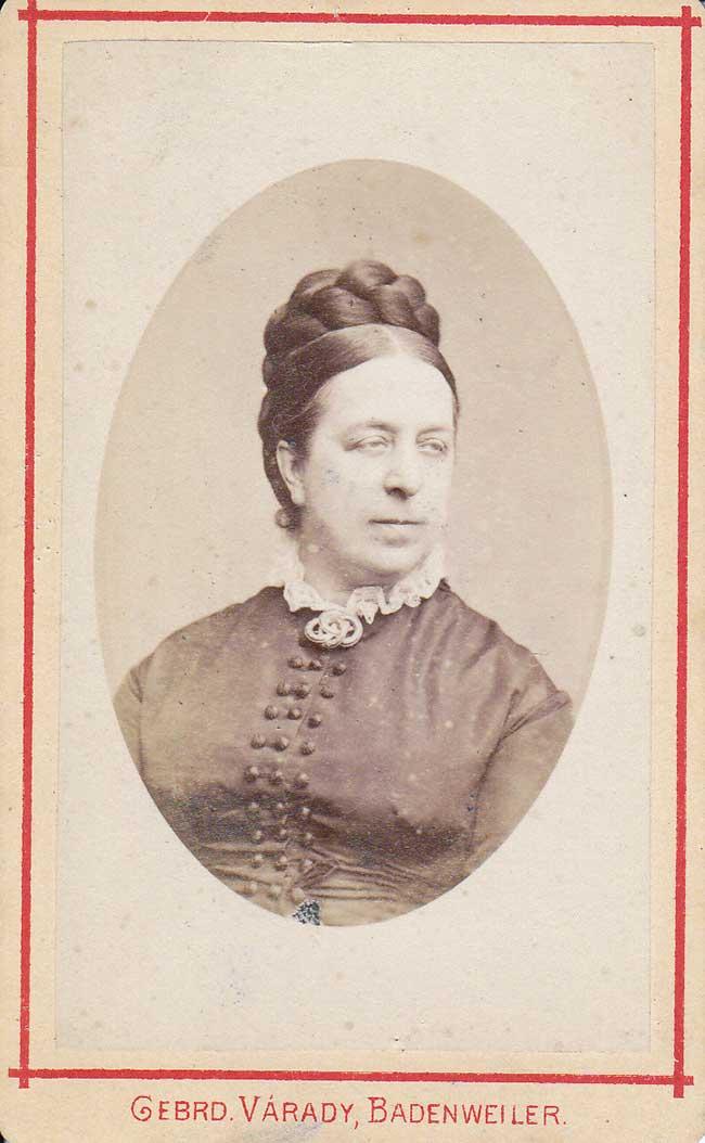 Portret Hendrika Susanna Petronella Johanna Walkart