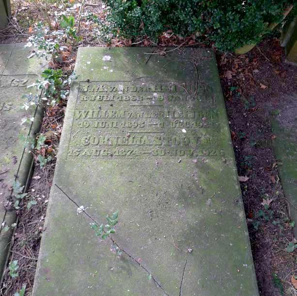 Graf G89 - Stoové - Oude Algemeene Begraafplaats Zeist