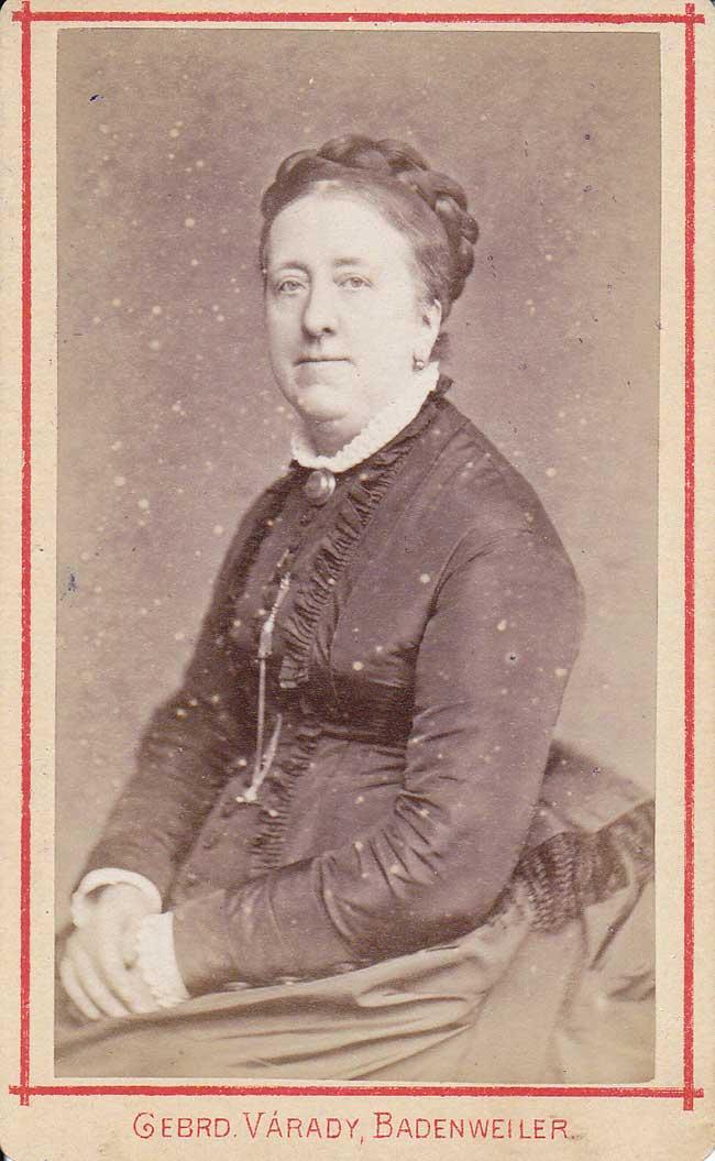 Portret Marianne Henriette Walkart