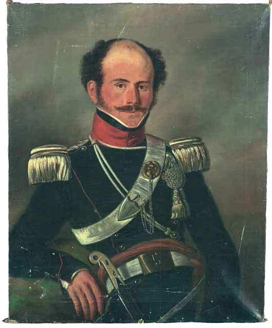 Ernestus de Pesters. Portret door J.L. Jonxis, ca. 1840