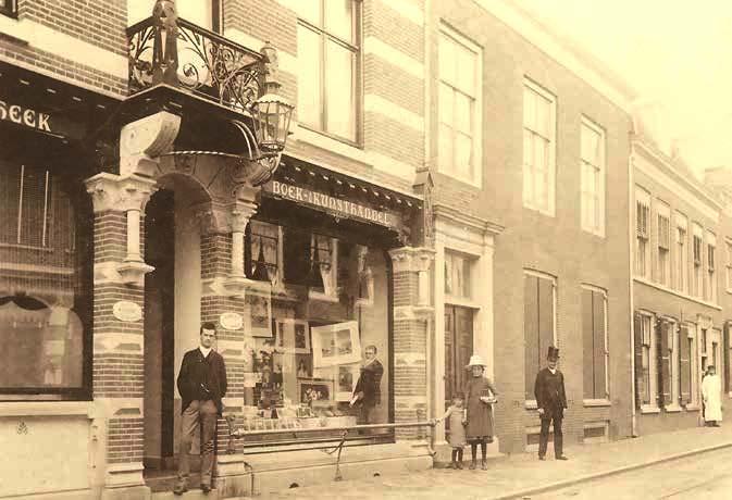 1e Dorpsstraat Zeist omstreeks 1890