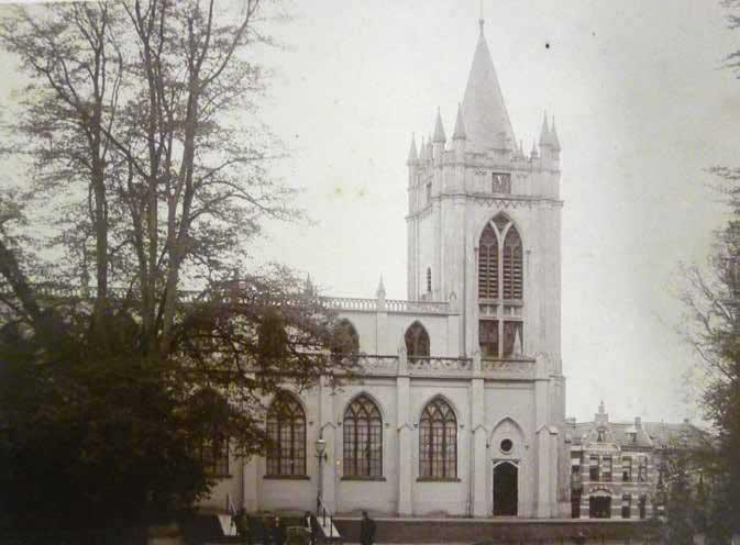 Foto De Oude kerk in de tijd van ds. Abraham Couvée.