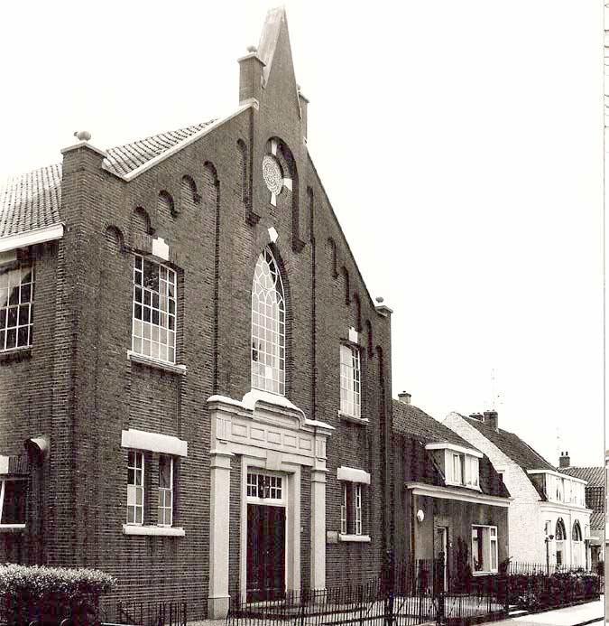 De (tweede) Gereformeerde kerk, Torenlaan 38, Zeist