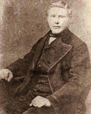 Foto Diedericus Wijting als jonge man