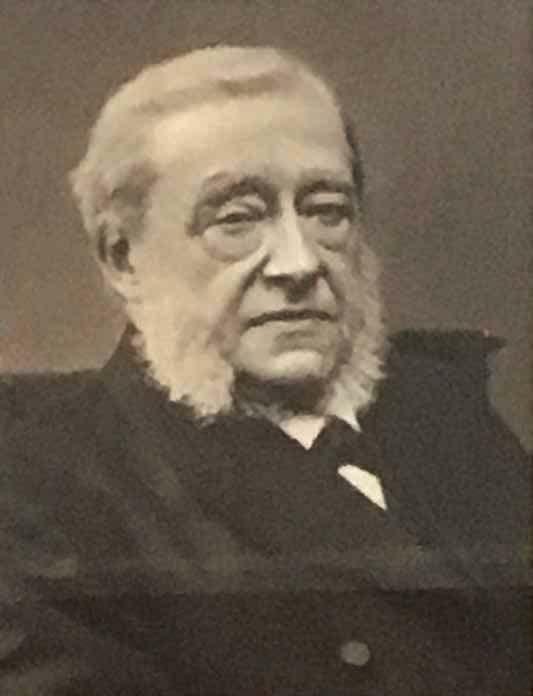 Portretfoto Ds. Abraham Couvée