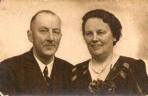 Gerardus jr. van de Haar en zijn echtgenote Anna Vos