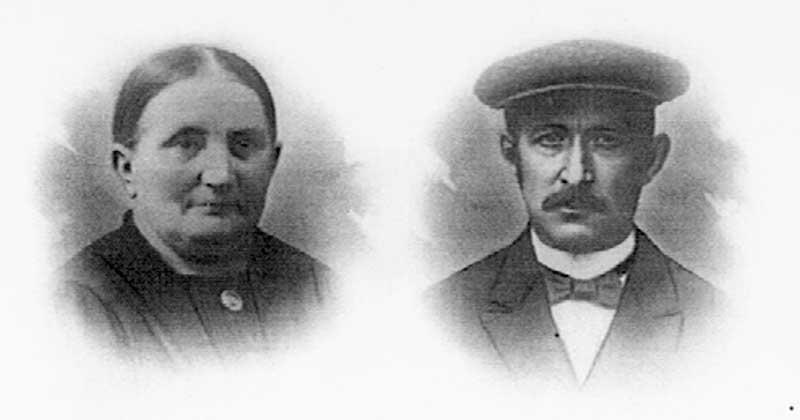 Jan en Jannetje van der Kamp