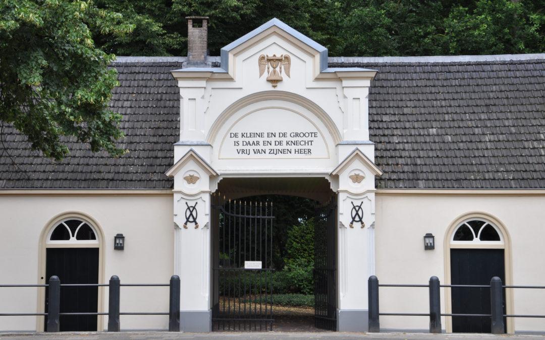 Poortgebouw Oude Algemene Begraafplaats Zeist